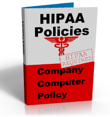 Online HIPAA computer policy template